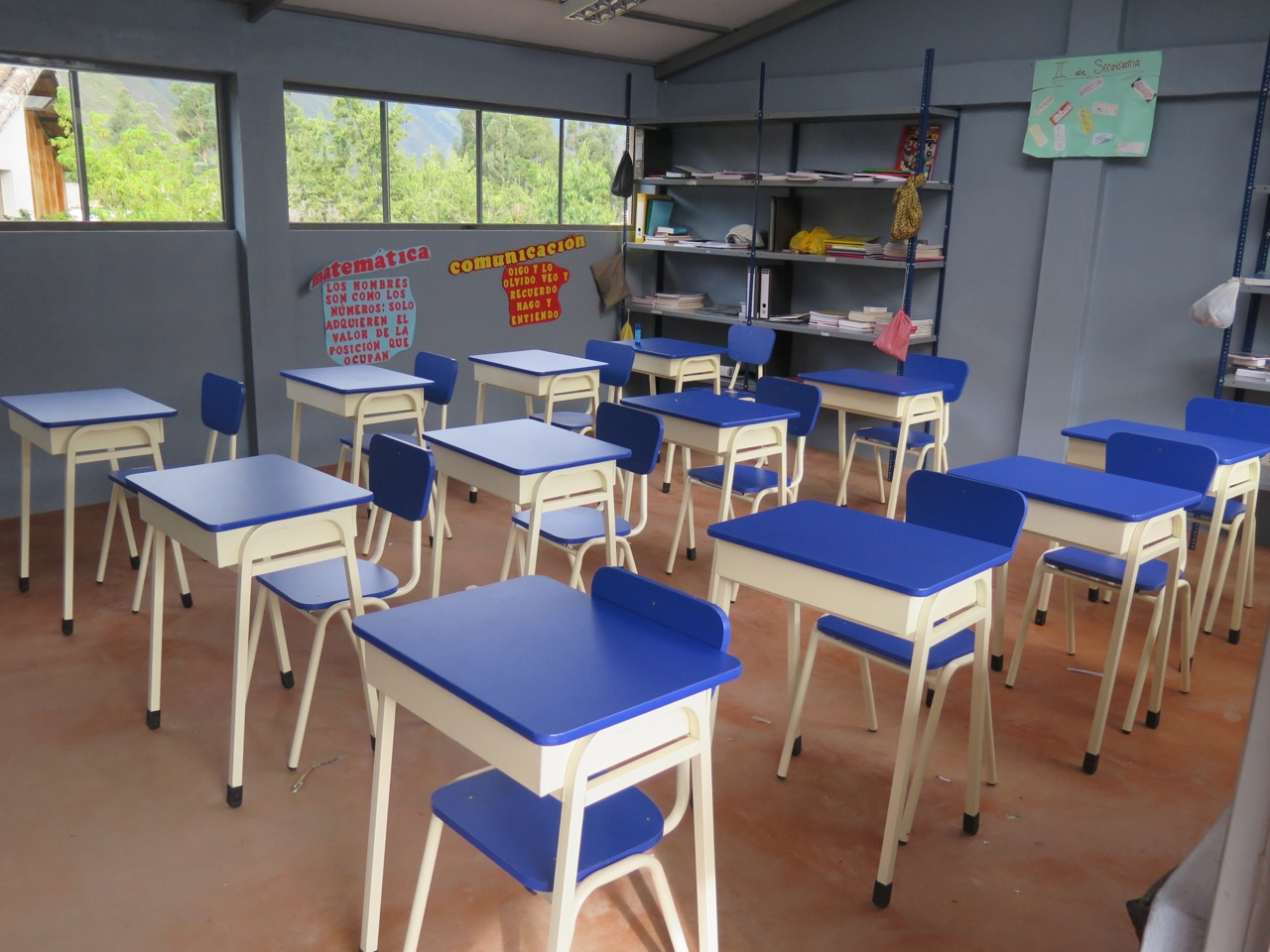 Pictures Of Classroom Furnitures ~ Fund raising for sol y luna primary school in the sacred