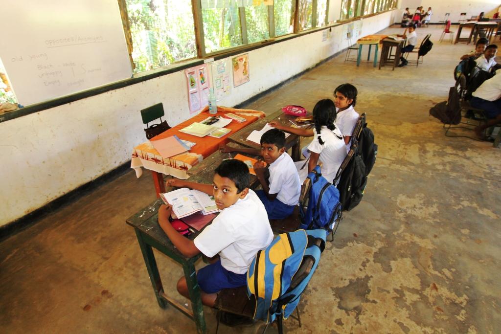 Restore A School In Sri Lanka Sagapo Children S Foundation